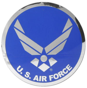 "USAF with Wing Logo 3"" Reflective Decal"