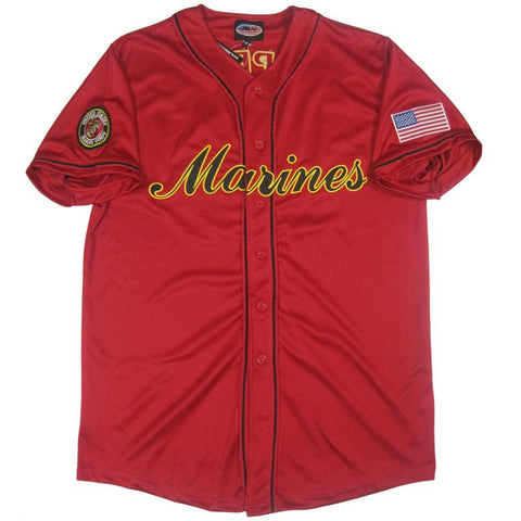 U.S.Marines Baseball Jersey-Military Republic
