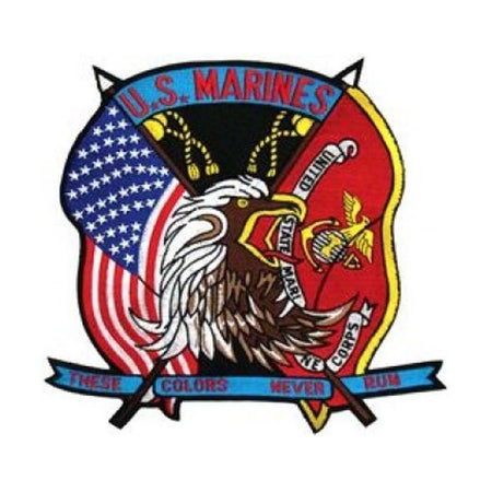 USMC Back Patch (10 x 10)