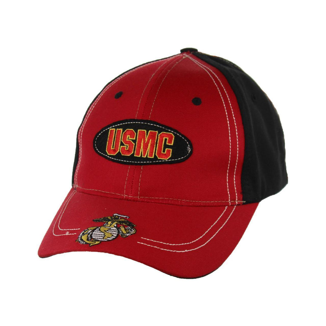 USMC Baseball Cap with Logo-Military Republic