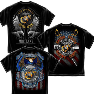 USMC Birthday 3 Tees Collector's Pack-Military Republic