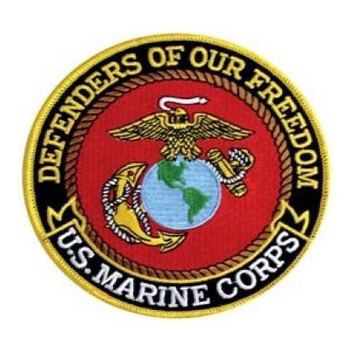 USMC Defenders of Our Freedom Back Patch (5 inch)-Military Republic