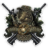 USMC-Devil-Dog-First-In-Last-Out-Decal-Claris-Deals