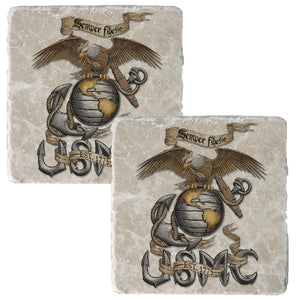 USMC Eagle Coaster-Military Republic
