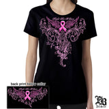 USMC Elite Breed Cancer Awareness T-Shirt-Military Republic