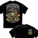 USMC Failure Is Not An Option T-Shirt-Military Republic