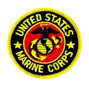 USMC Globe & Eagle Patch (3 inch)-Military Republic