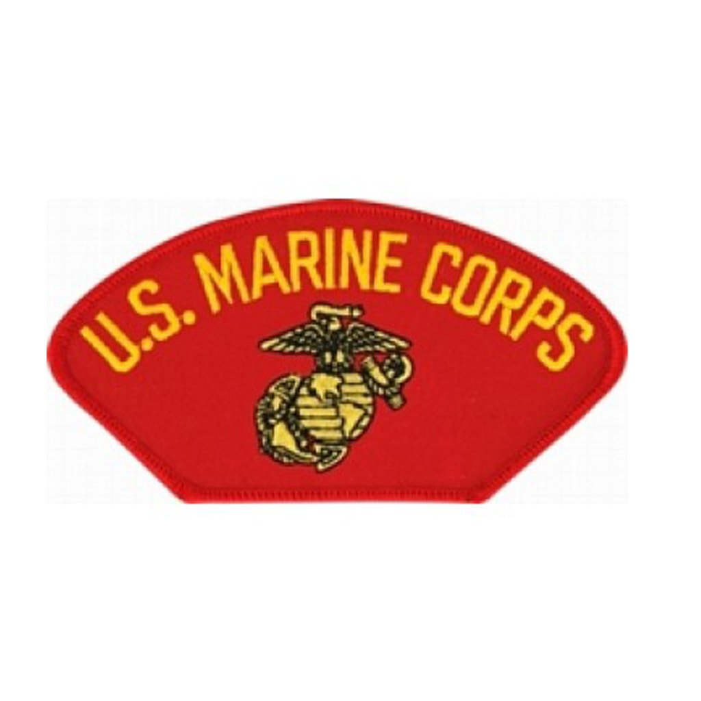 USMC Insignia Red Patch (4 inch)