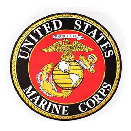 USMC Insignia Rocker Back Patch (10 inch)-Military Republic