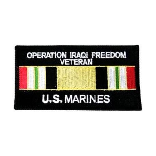 USMC Iraqi Freedom Veteran Patch (3 inch)
