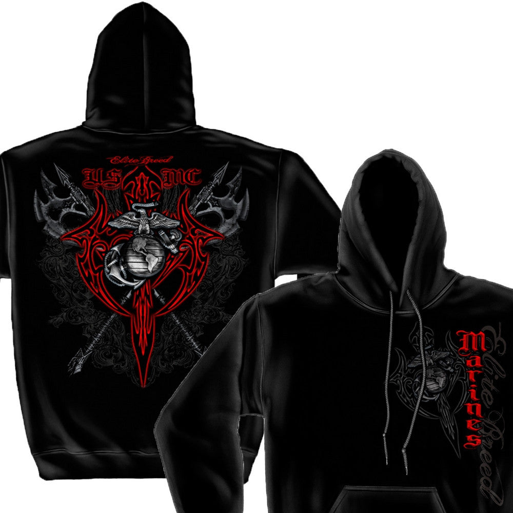 USMC Marine Tribal Hoodie-Military Republic