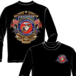 USMC Marines Long Sleeve Shirt-Military Republic