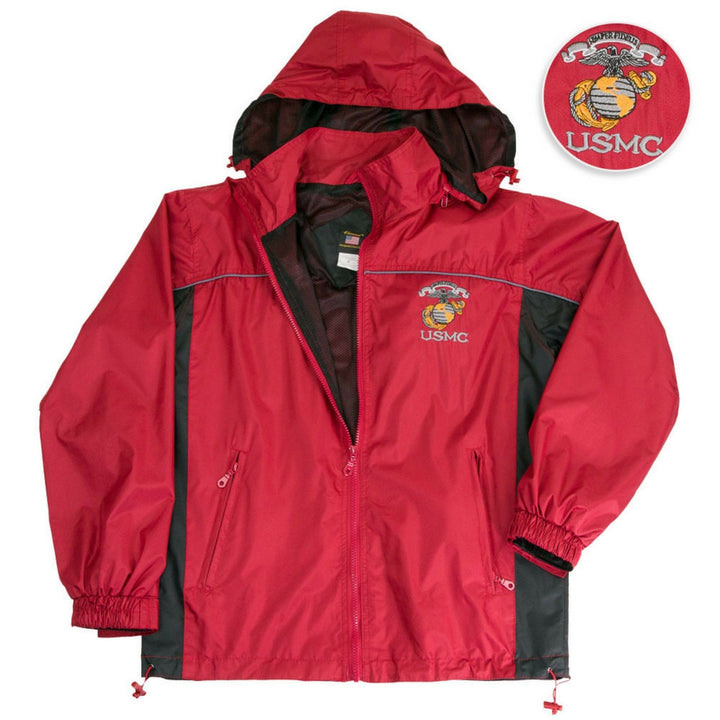 USMC Semper Fidelis Windbreaker Jacket-Military Republic