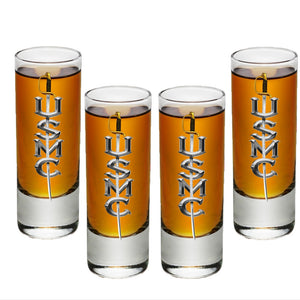USMC Sword Shot Glasses-Military Republic