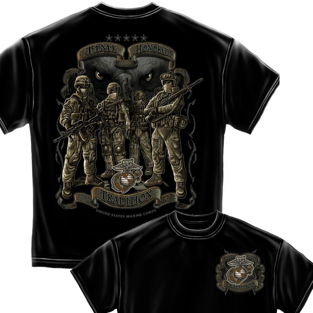 USMC Time Honor Tradition Eagle T-Shirt