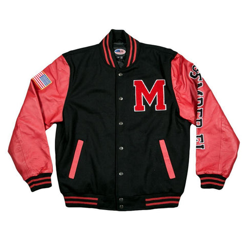 Varsity US Marines Jacket-Military Republic