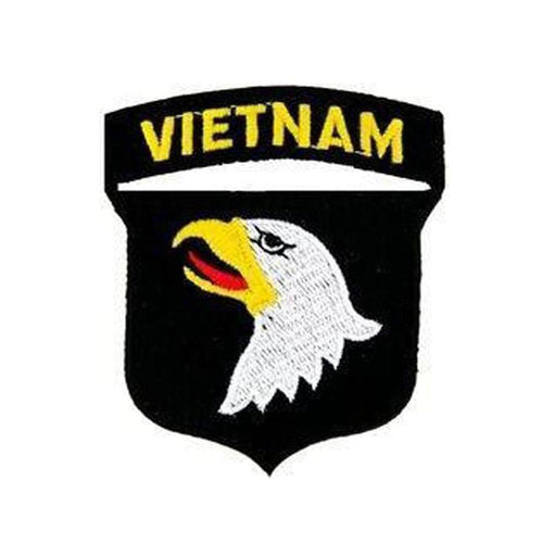 Vietnam 101st Airborne Division Small Patch-Military Republic