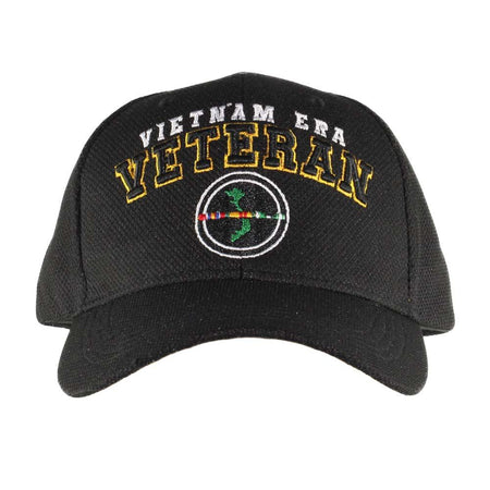 Vietnam Era Veteran Black Performance Cap