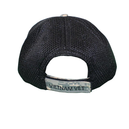 Vietnam Vet Digital Mesh Cap-Military Republic