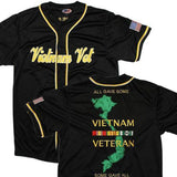 Vietnam Veteran Baseball Jersey-Military Republic