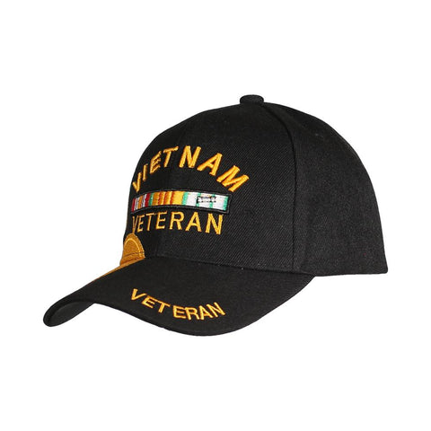 Vietnam Veteran Medal Embroidered Hat-Military Republic