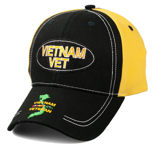 Vietnam Veteran Oval Cap-Military Republic