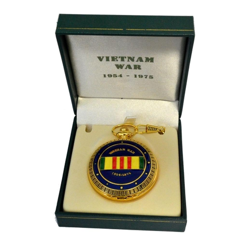 Vietnam War Commemorative Pocket Watch