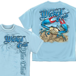 Wicked Crab T-Shirt-Military Republic