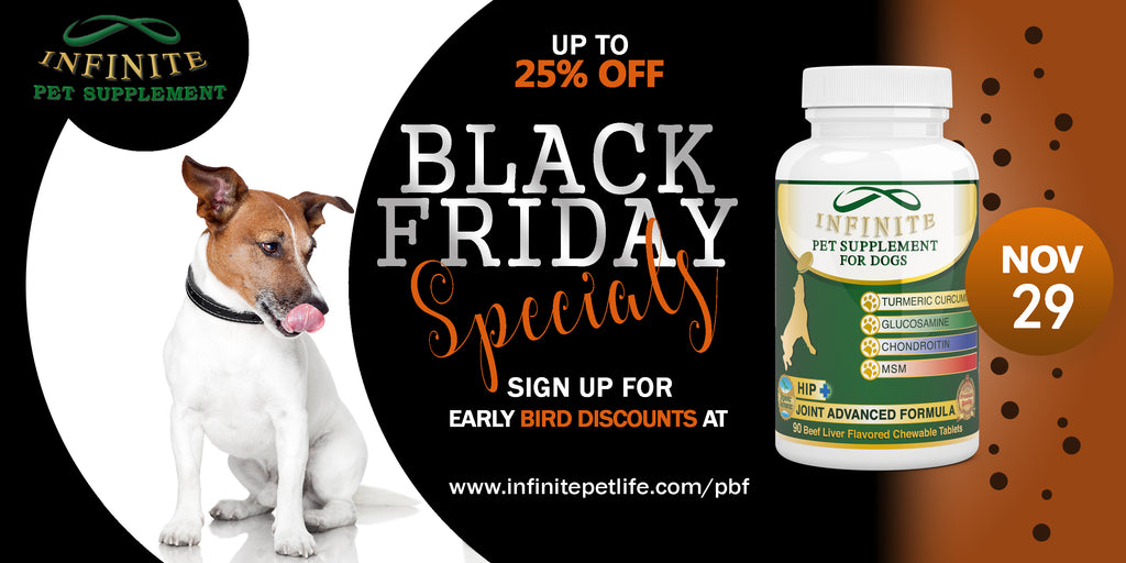 infinite black friday early bird special ethical health supplements