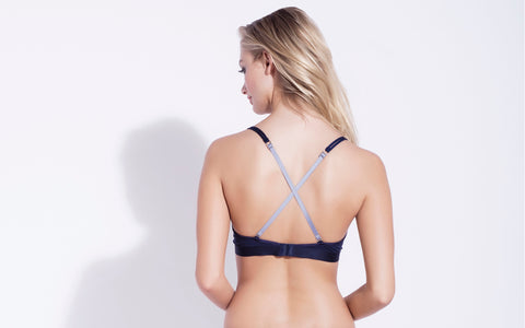 Organic cotton soft bra racer back