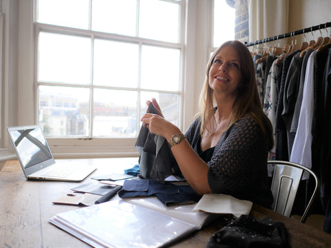 Ethical fashion brand founder Ulla from Vildnis