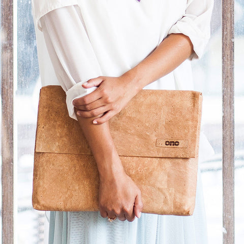 Ecofriendly laptop bag, vegan leather, vegan bag, sustainable handbags