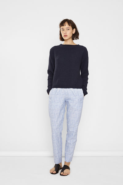 Angela Organic Cotton Ribbed Sweater