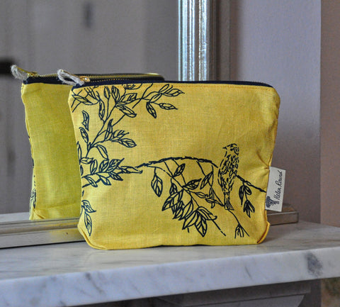 Toiletry bag - Bird print