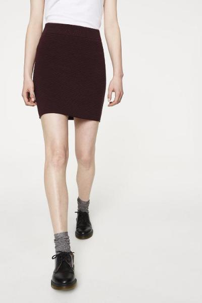 Enid Organic Cotton Knit Skirt