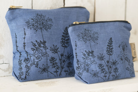 Make-up bag - Flower print