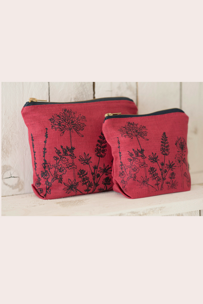 Toiletry bag - Flower print
