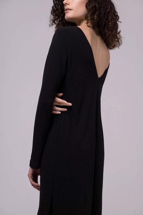 ethical fashion black dress jan n june sustainable vegan fashion