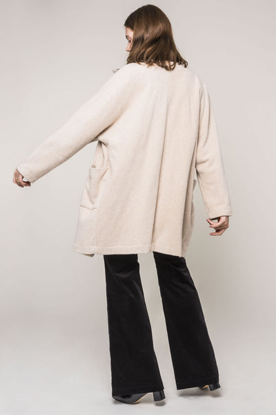 Organic Fleece Jacket Cream