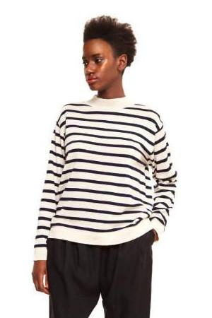 organic wool striped jumper maska sustainable jumpers ethical fashion