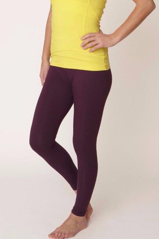 OM Leggings Deep Purple