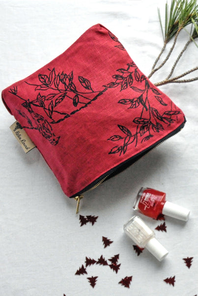 Make-up bag - Bird print