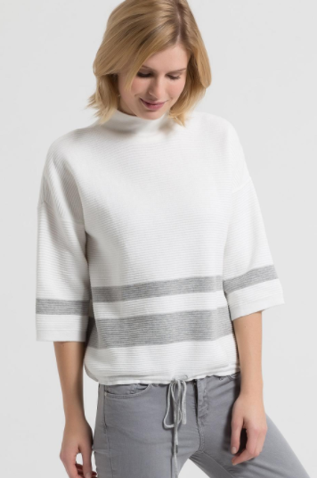 Organic cotton knit jumper