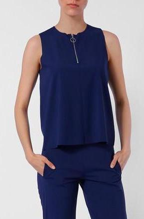 Sleeveless Top Navy