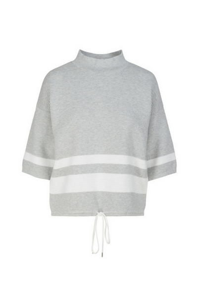 grey organic cotton jumper ethical clothing by armed angels
