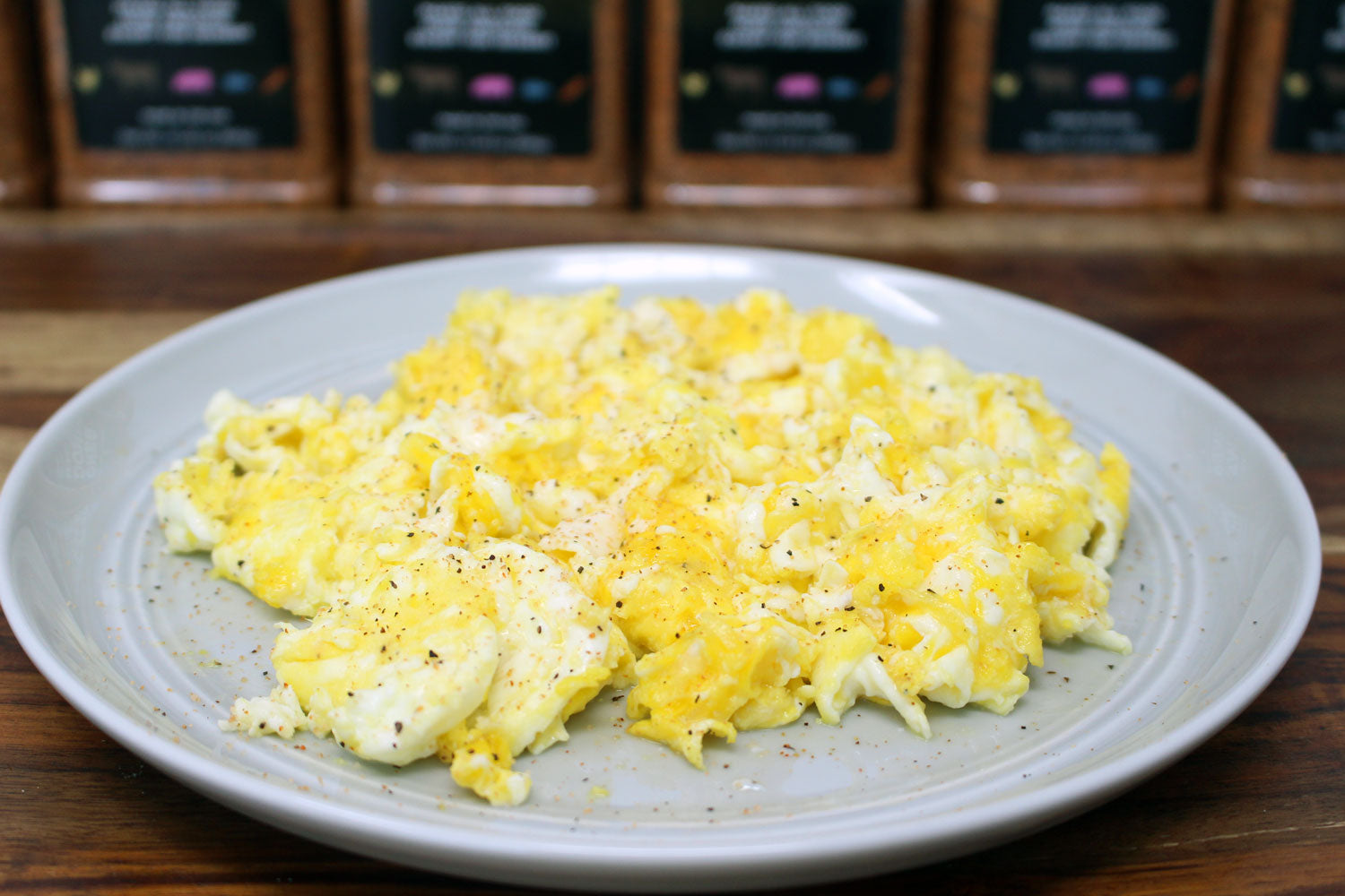 Fried Scramble Eggs