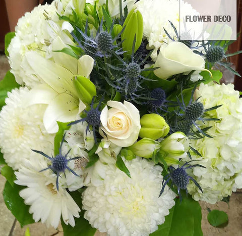 Blue Accent Bouquet