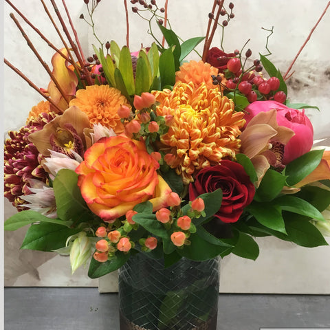 Fall Bronze Arrangement