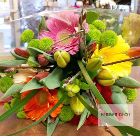 Tulip and Gerbera Bouquet