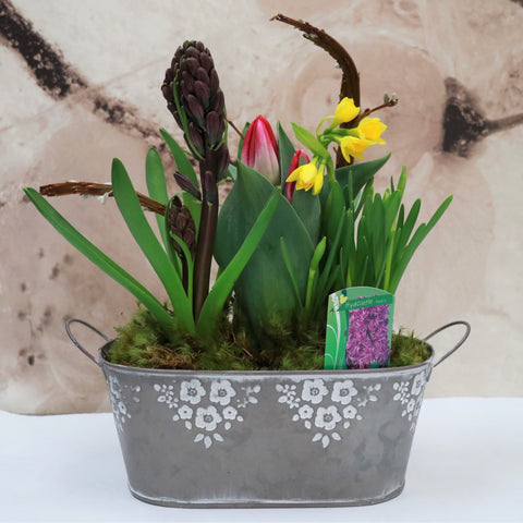 Leap Into Spring Planter